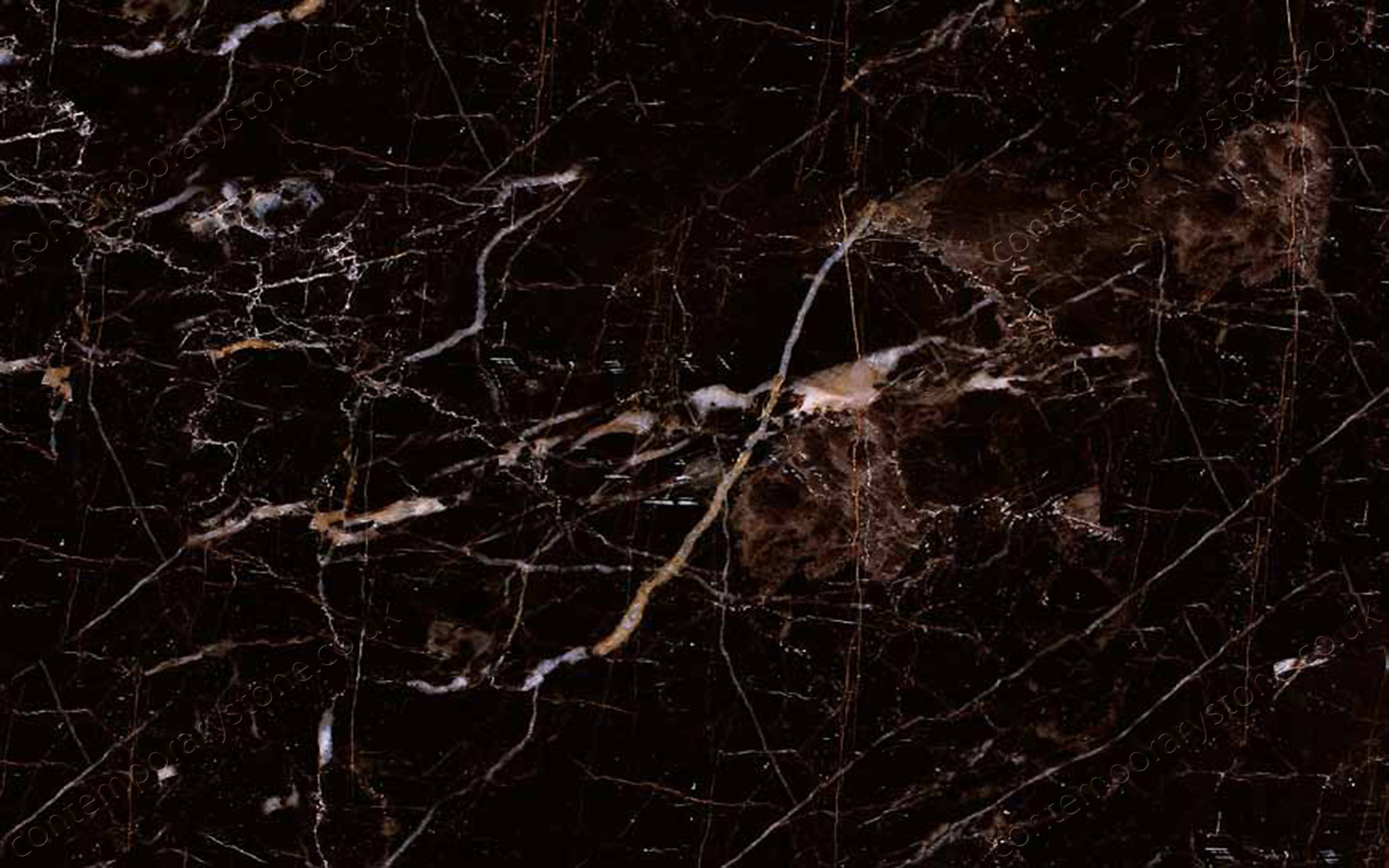 Noir Saint Laurent marble close-up