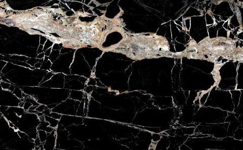 Portoro Gold marble close-up