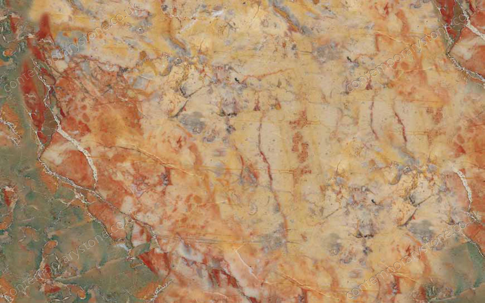 Sarrancolin marble close-up