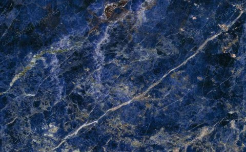 Sodalite Blue marble close-up