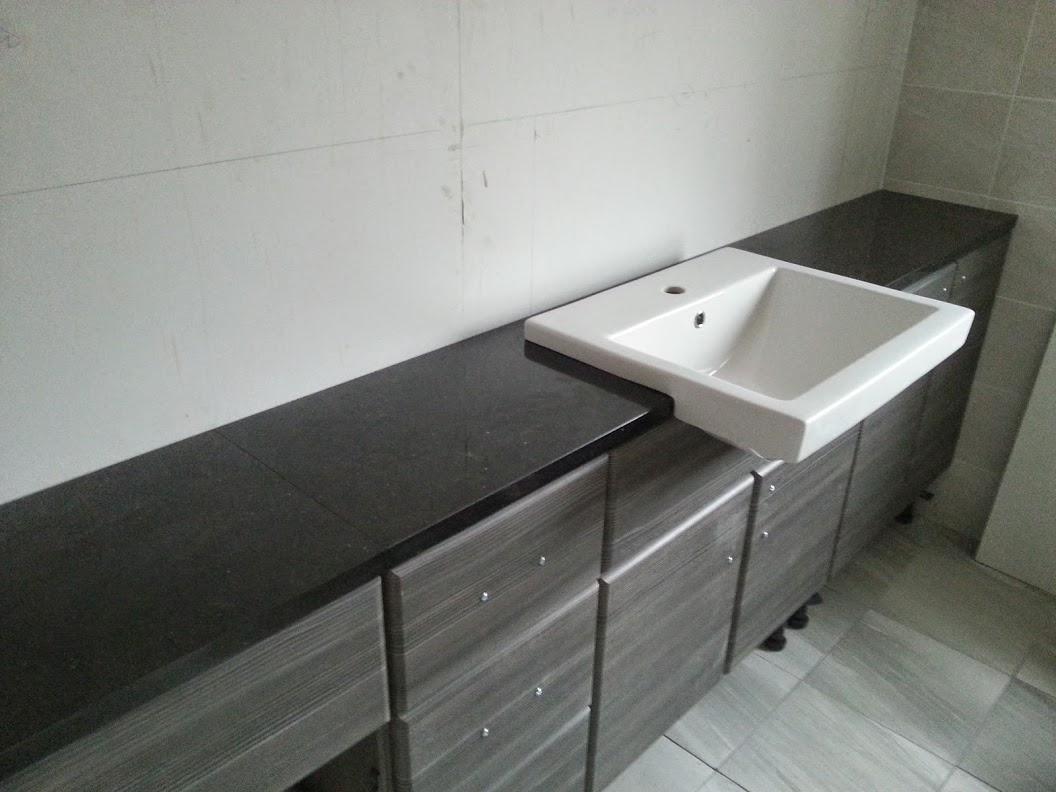 Star Galaxy Granite Bathroom Surface Leamington Spa