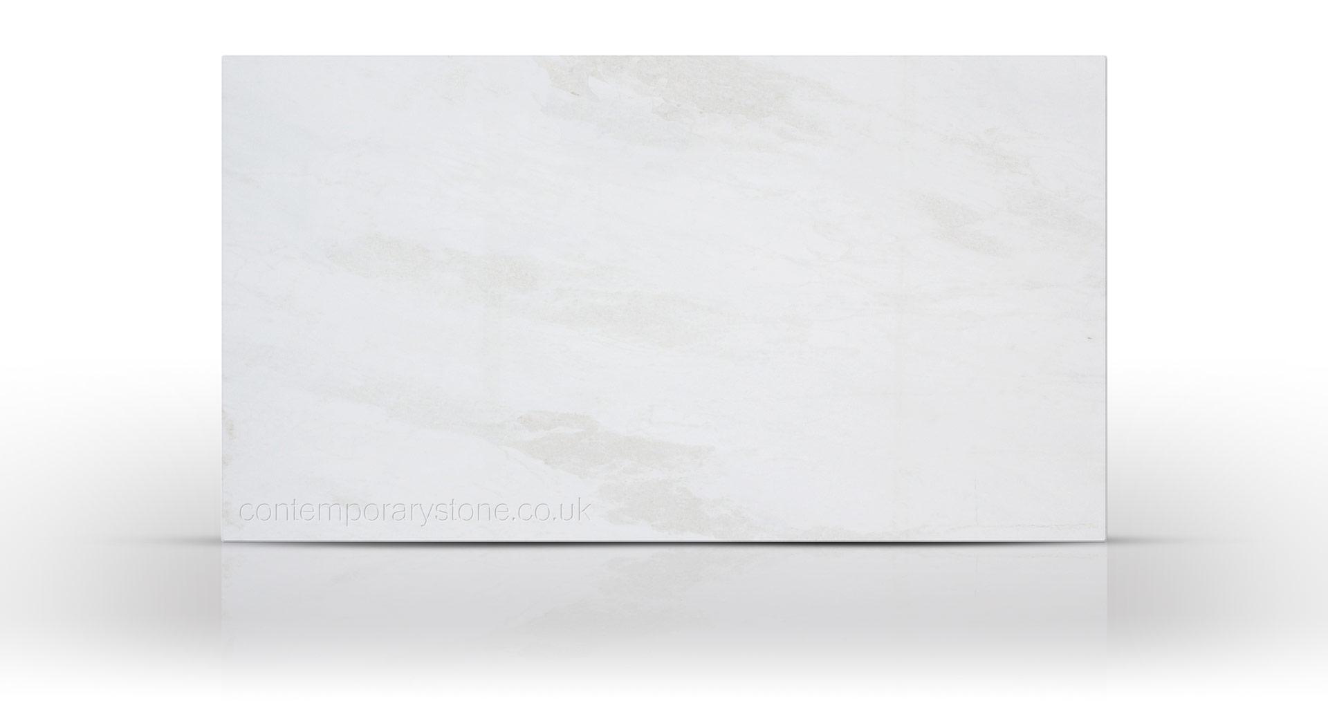 white rhino marble slab