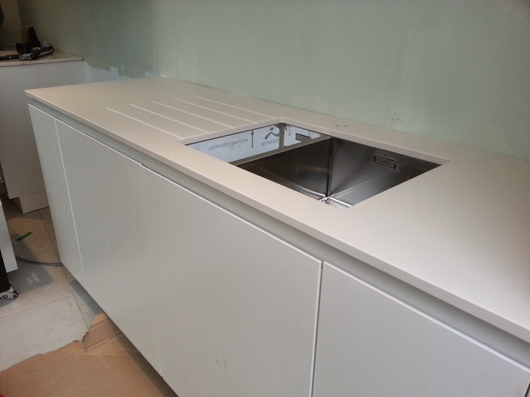 Haiku Silestone Quartz Worktop Royal Leamington Spa
